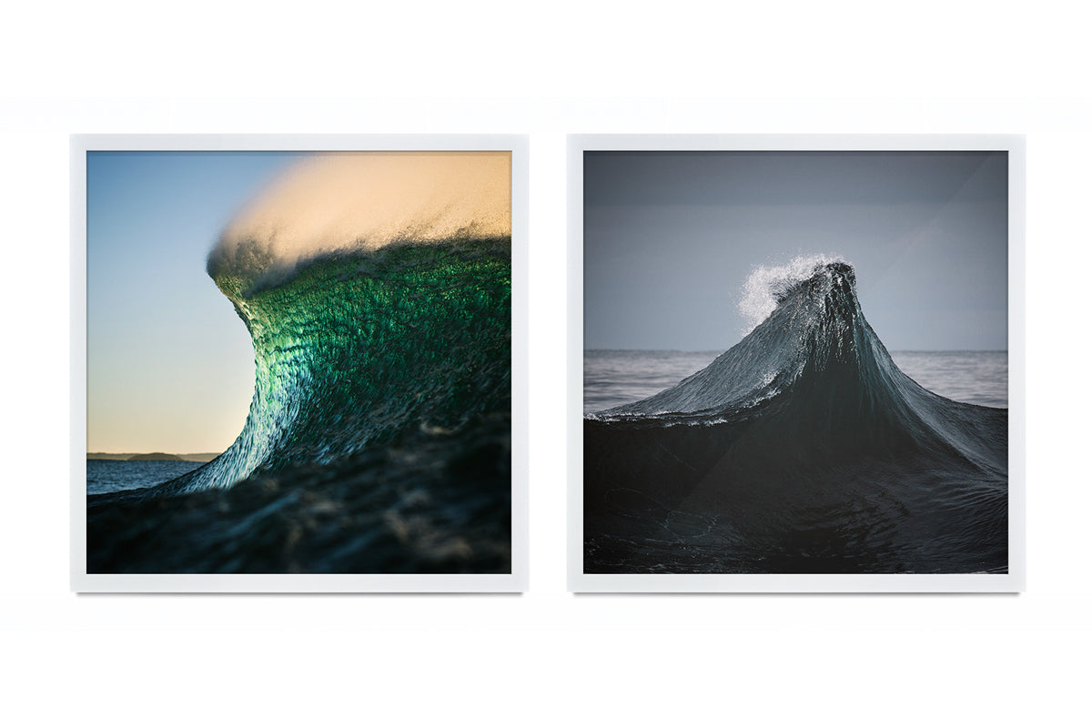Thurston Photo Square crop framed Ocean Art