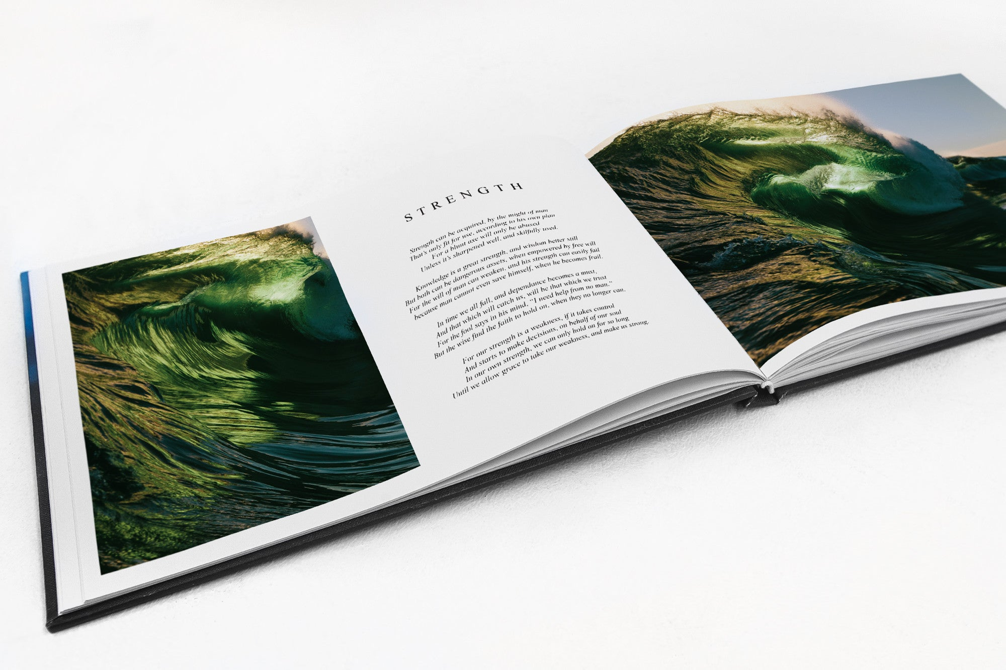 Living Water Coffee Table Book Thurston Photo