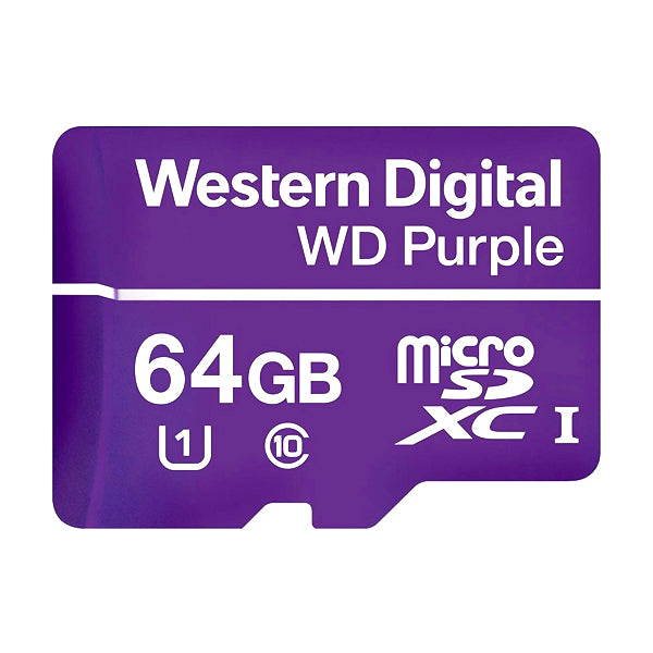 Memoria SD WD 64GB - totalconect