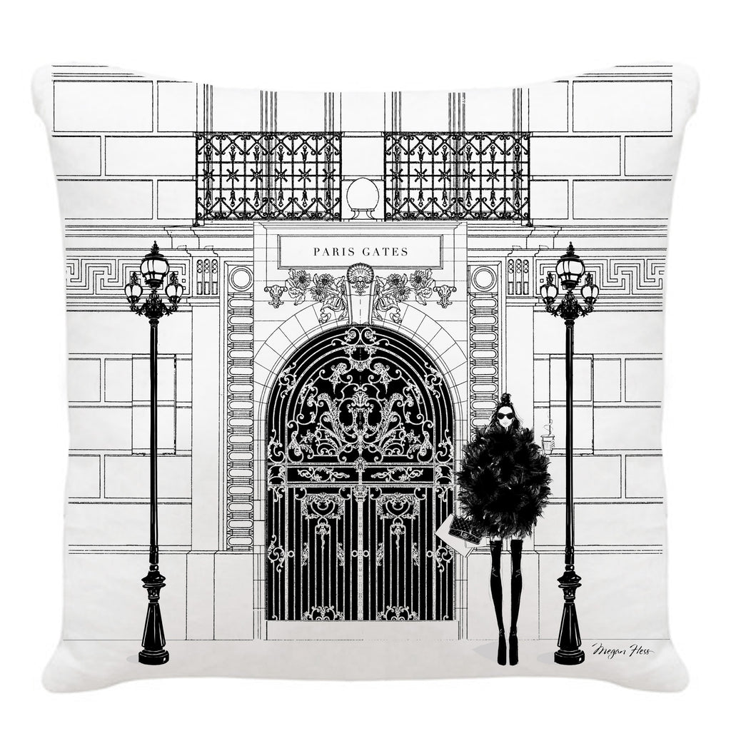 Cushion - Paris Gates