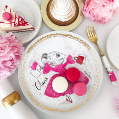 LIMITED EDITION Claris Plate Set - Strawberry Soufflé