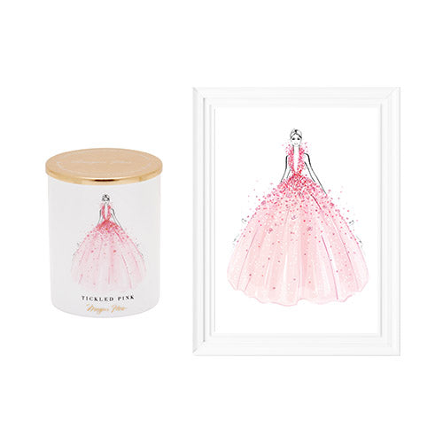 Candle set - Tickled Pink