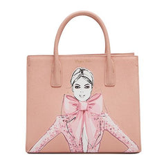 The Artist's Tote - Blushing Bow