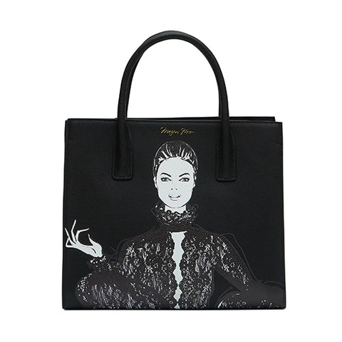 The Artist's Tote - Ebony Lace