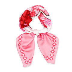 Silk Scarf - With Love, Rose