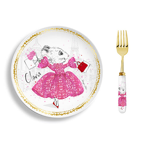Limited edition: Claris Plate Set - Strawberry Soufflé