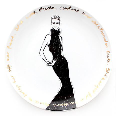 Couture Show  Plate - she wore Prada