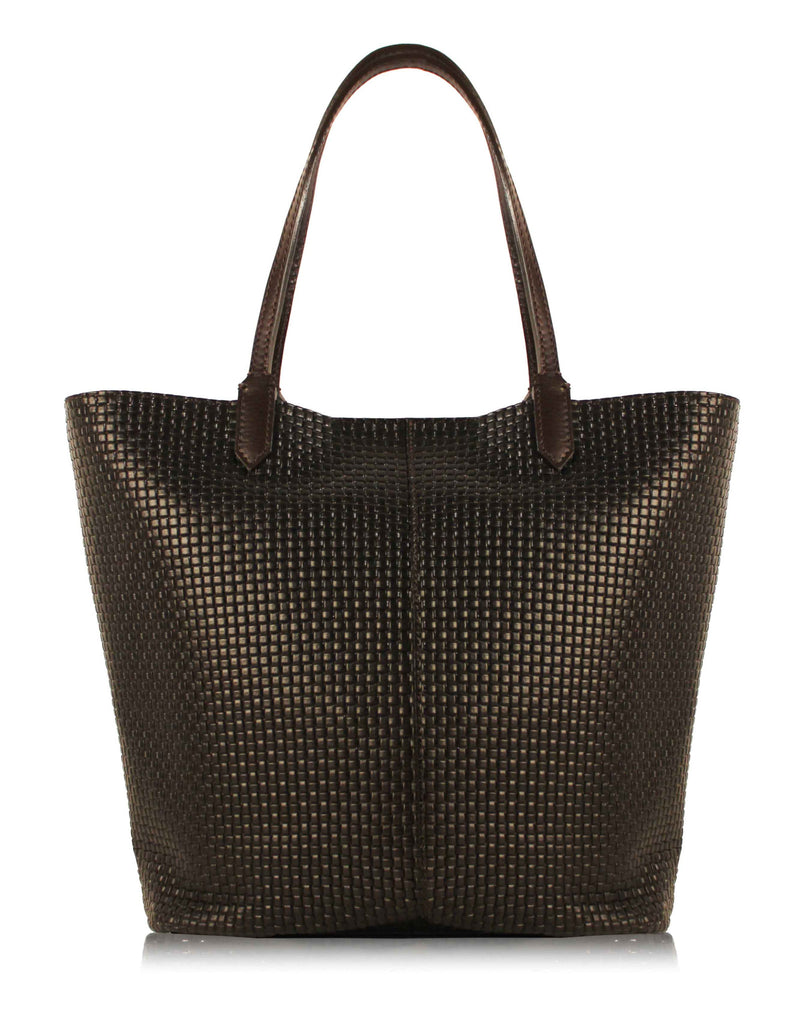 Milano Leather Tote Bag
