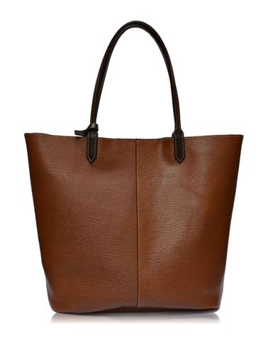 Louis Leather Tote Bag