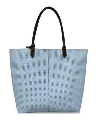 Celeste Leather Tote Bag
