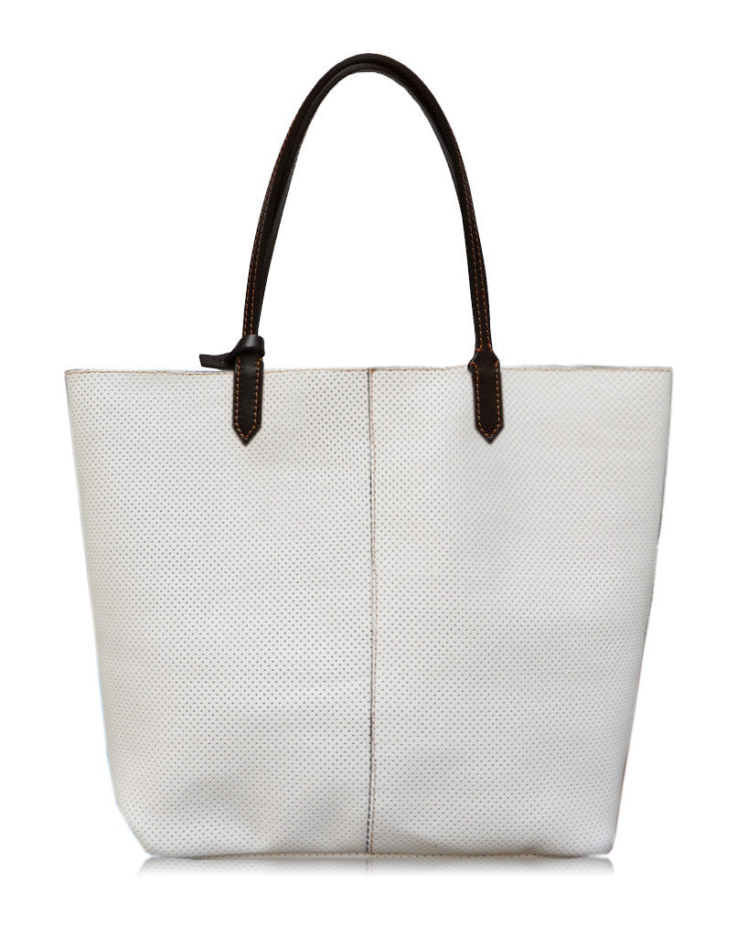 Carrera Leather Tote Bag