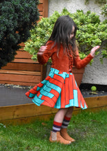 Load image into Gallery viewer, Raspberry Republic Pump Up the Volume Twirly Skirt
