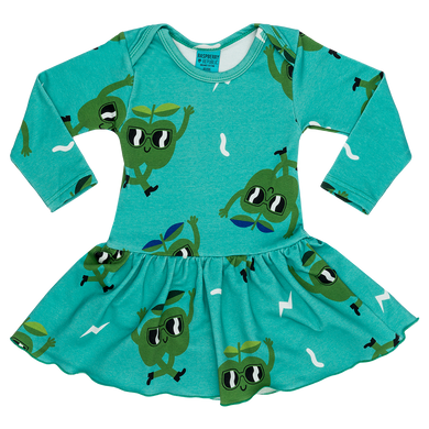 Raspberry Republic Juicy Apple baby/toddler dress