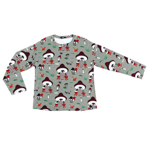 Raspberry Republic Adult Elves and Gnomes Long Sleeve T-Shirt