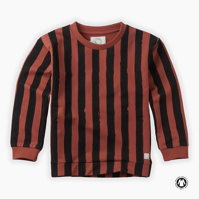 Painted Stripe Sweatshirt