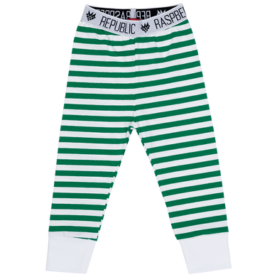 Raspberry Republic Green Stripes Summer Pants