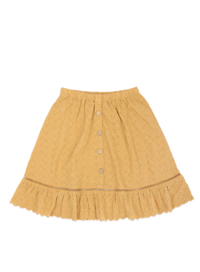 Ammehoela broderie skirt with ruffle AM.Romy.02