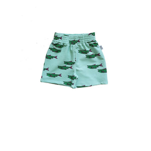One Day Parade Blue Fish Shorts
