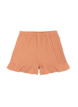 Load image into Gallery viewer, Ammehoela coral striped short with ruffle AM.Esmee.03