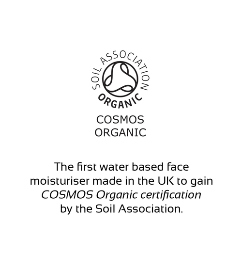 certified organic face moisturiser soil association uk