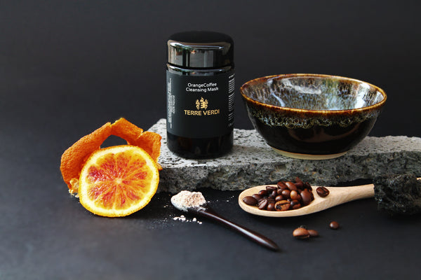 OrangeCoffee Cleansing Mask by Terre Verdi use for Balancing Facial
