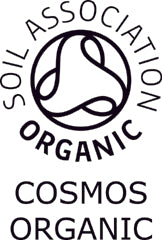 Soil Association COSMOS certified organic