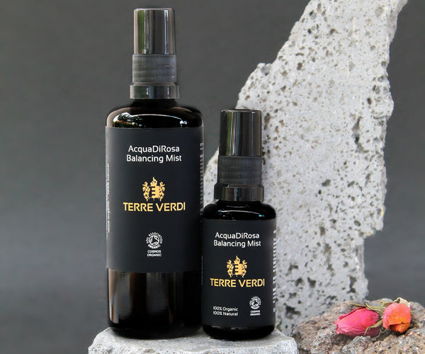 toning in evening skincare routine by Terre Verdi