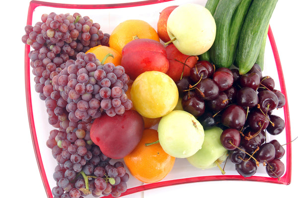 colourful fruits healthy for the skin
