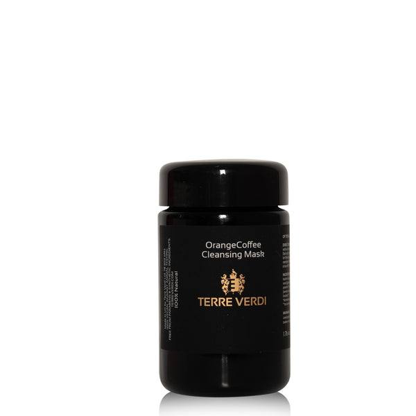 Totally Natural Skincare Orange Coffee Cleansing Face Mask 50g by Terre Verdi