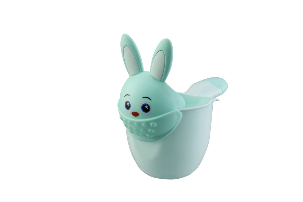 Children's shampoo shower spoon