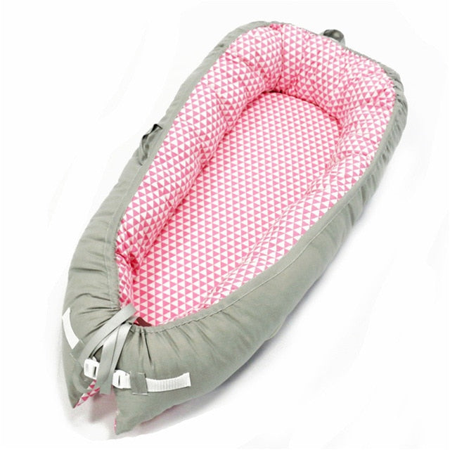 NEST MY BABY TRAVEL COTTON BED - Mommies Care.