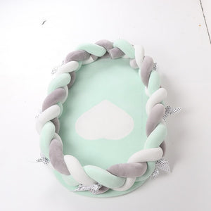 80*50cm PORTABLE COTTON BABY SLEEP NEST - Mommies Care.