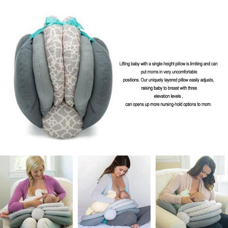 ADJUSTABLE CUSHION FEEDING PILLOW - Mommies Care.
