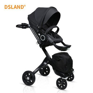 Newborns Luxury 2 In 1 Baby Stroller High Landscape Stroller - Mommies Care.