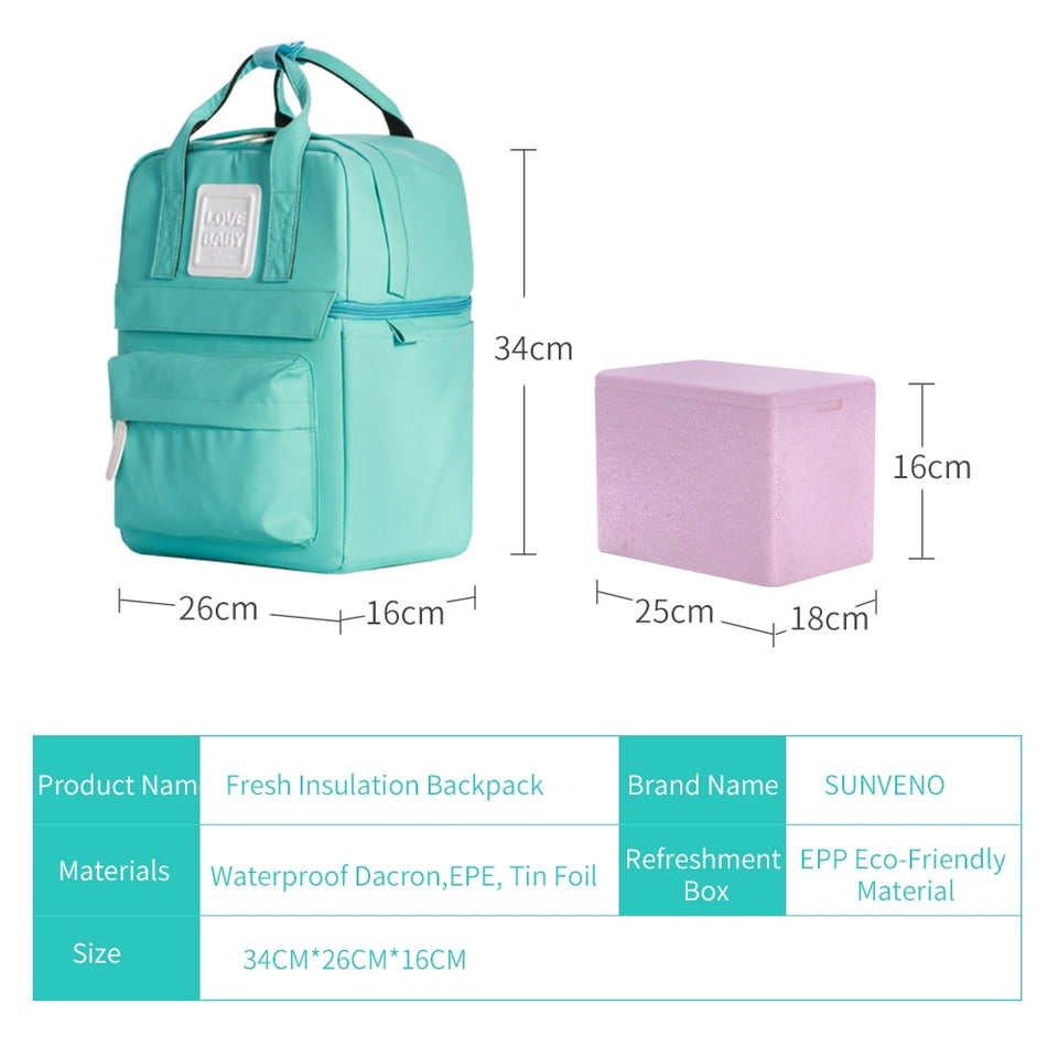 PORTABLE INSULATION BOTTLE BAG - Mommies Care.