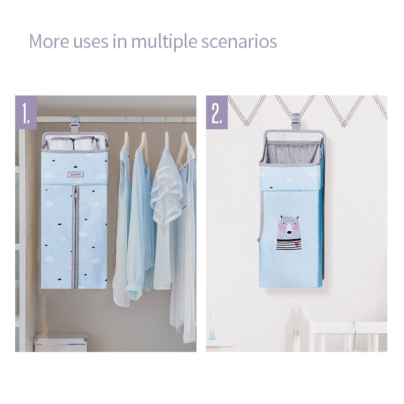 PORTABLE BABY CRIB ORGANIZER - Mommies Care.