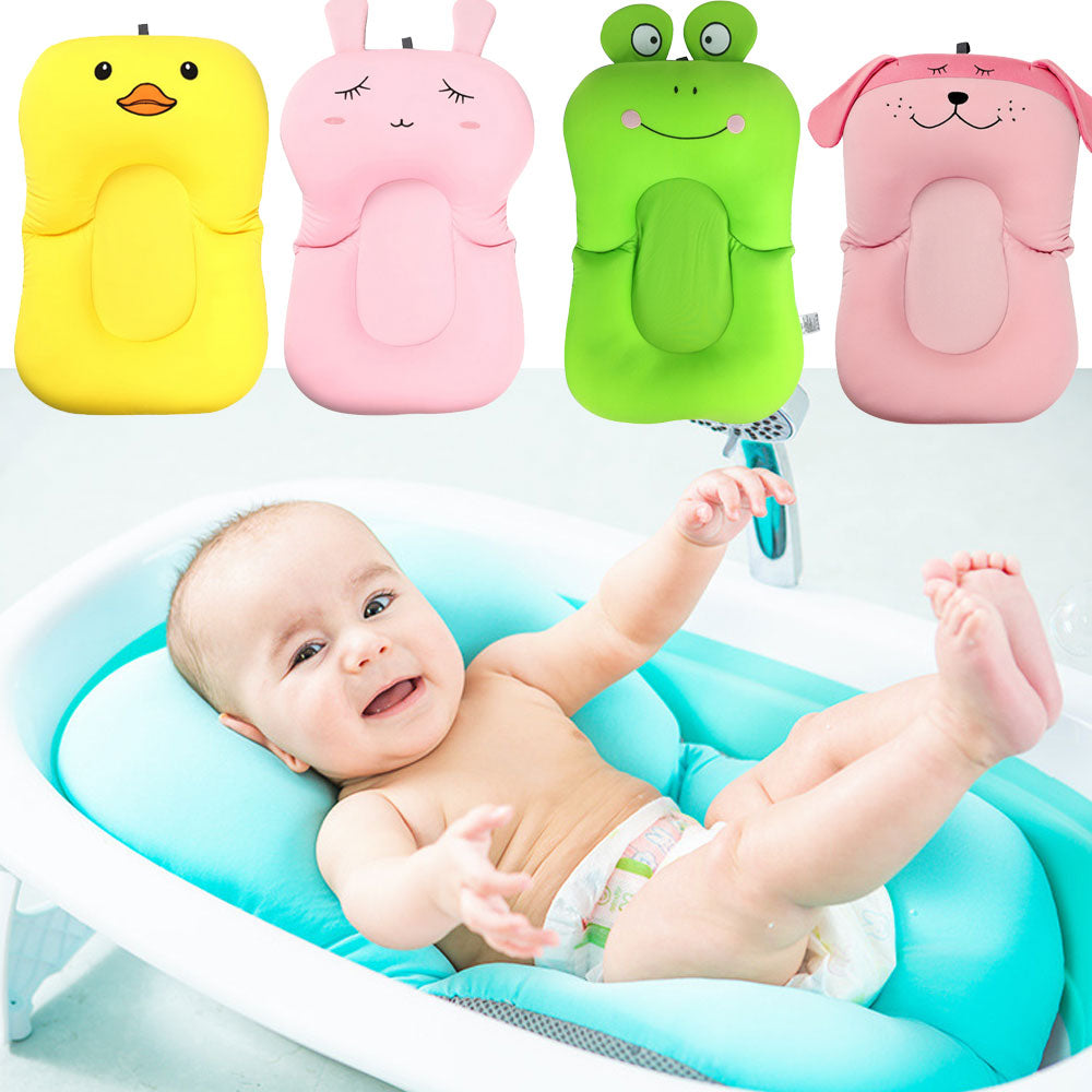 SHOWERWELL Portable Baby Air Cushion Bath Seat With Non-Slip Support - Mommies Care.