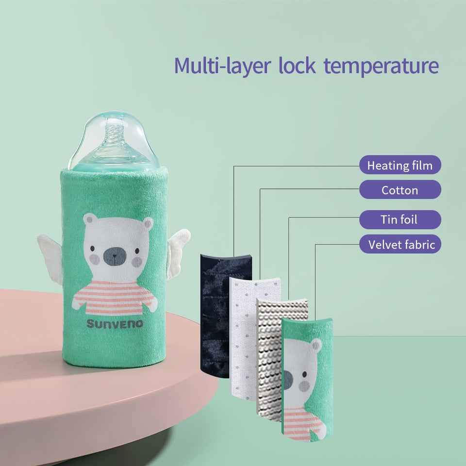 Portable Milk Bottle Warmer - Mommies Care.