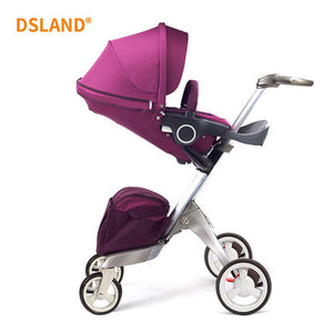 2019 New Upgrade DSLAND Luxury High Landscape Stroller - Mommies Care.