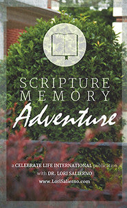 Scripture Memory Adventure booklet