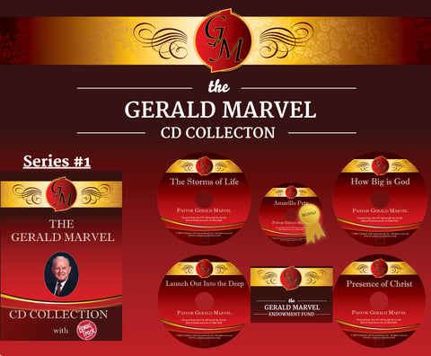 "The Gerald Marvel CD Collection ""Series 1"""