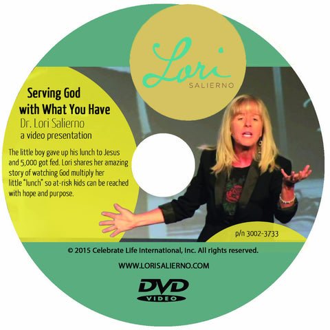 Serving God With What you Have DVD