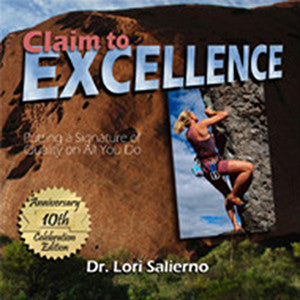 Claim to Excellence book