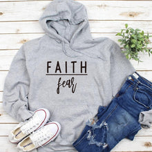 Load image into Gallery viewer, Faith Fear Women Hoodies