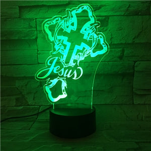 Christian Religion Night Light