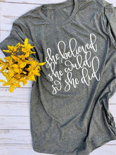 Load image into Gallery viewer, Women's Bible Verse Shirt