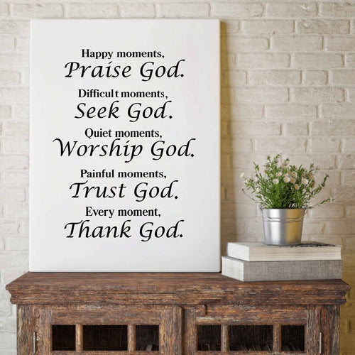 Verse Quote Home Decor