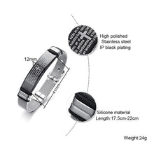Load image into Gallery viewer, Wristband For Men Adjustable