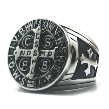 Load image into Gallery viewer, Saint Benedict Christianity Ring