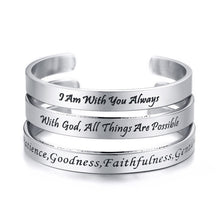 Load image into Gallery viewer, Bible Verse Bracelet
